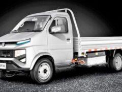 Суббренд Geely представил перспективный электрогрузовик Farizon F3E