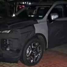 Обновленный кроссовер Hyundai Palisade вывели на испытания