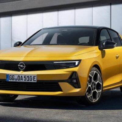 Opel Astra, новая