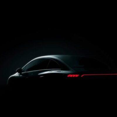 Mercedes-Benz EQE, тизер