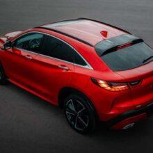 Infiniti назвала рублевые цены для кросс-купе QX55