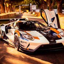 Ford тестирует новую версию суперкара GT