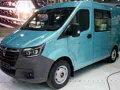 Серийную версию нового ГАЗ «Соболь» показали до официальной премьеры