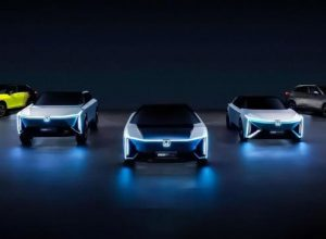 Honda представила пять новых электромобилей для Китая