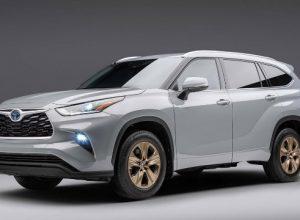 Кроссовер Toyota Highlander получил спецверсию Bronze Edition